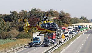 A2. Karambol na autostradzie. Trasa w stronę Warszawy zablokowana