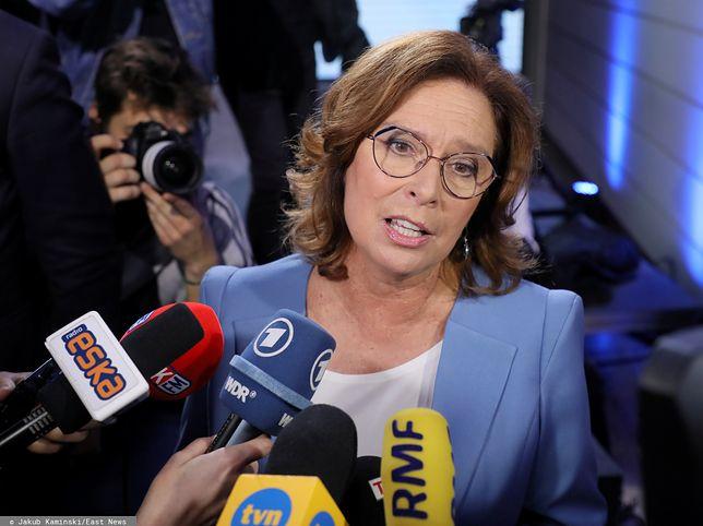 Małgorzata Kidawa-Błońska skomentowała też decyzję Andrzeja Dudy ws. Marszu Niepodległości