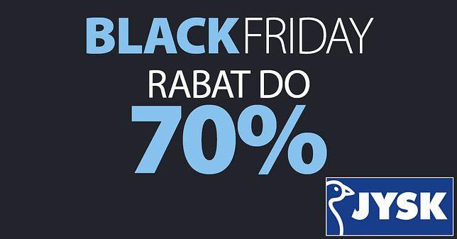 Black Friday JYSK, Black Red White, Agata – wyprzedaże i rabaty do 70 proc.