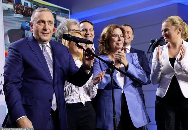 Wybory parlamentarne 2019. Lider PO Grzegorz Schetyna i pozostali kandydaci