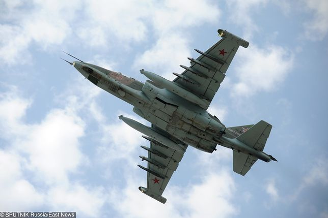 Rosyjski samolot szturmowy Su-25