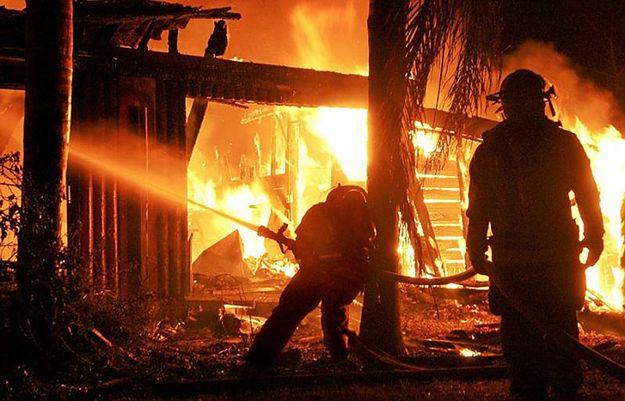 Dwoje dzieci zginęło w pożarze domu na Podlasiu