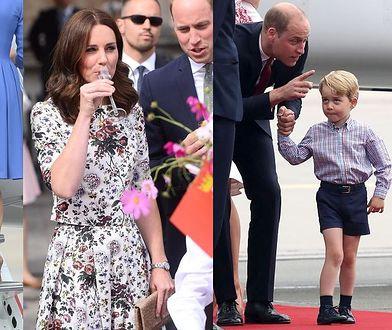 Księżna Kate i książę William w Polsce! Te momenty warto zapamiętać
