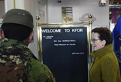 Premier Kopacz w Kosowie