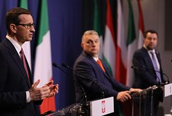 """Morawiecki w Budapeszcie. """"Priorytetem jest zwalczenie pandemii"""""""