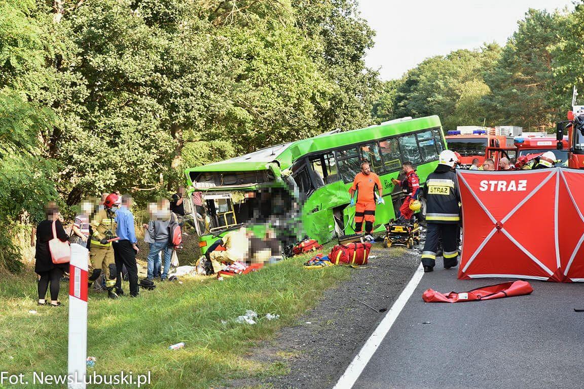 Wypadek na DK32