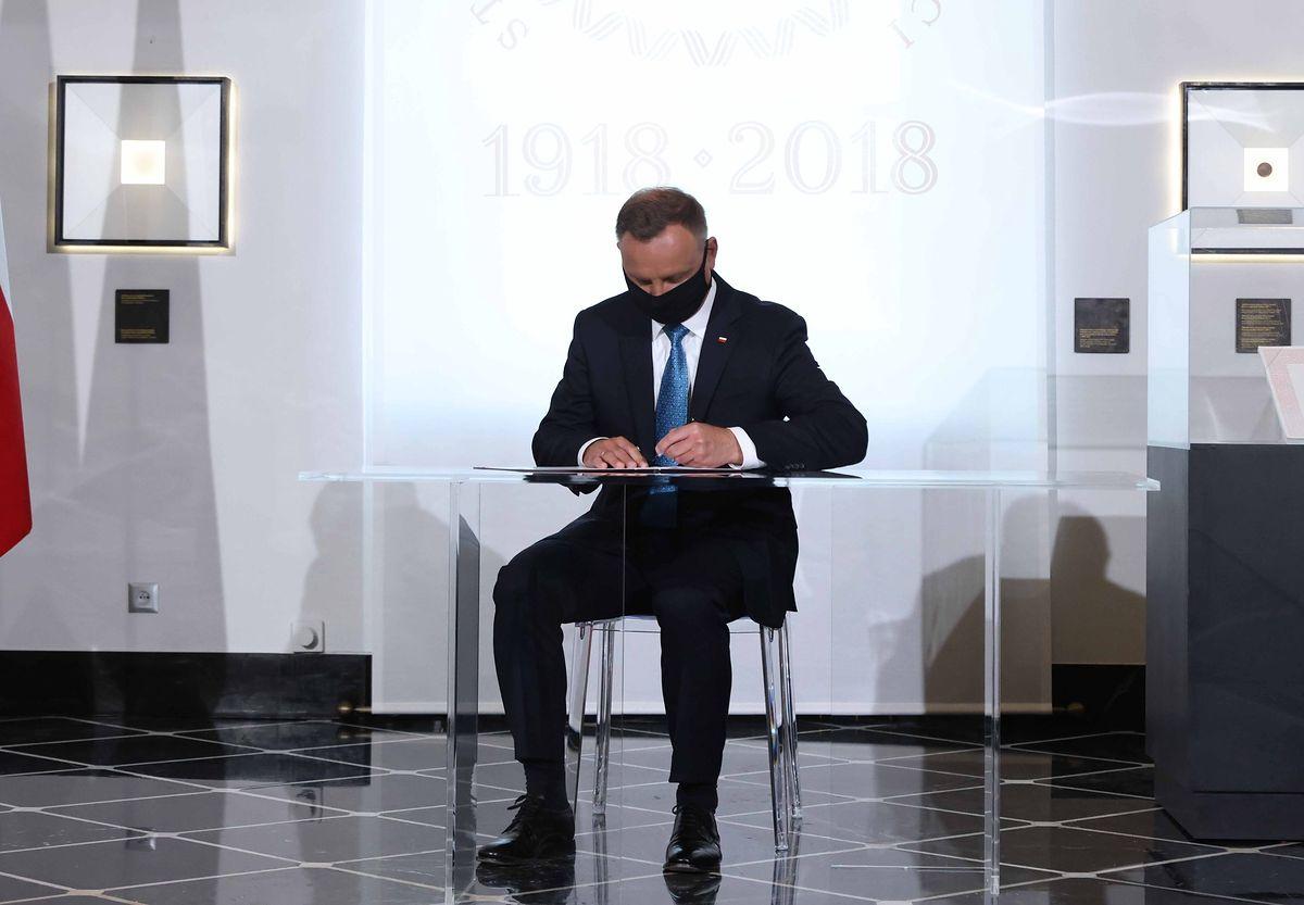 Stan wyjątkowy na granicy z Białorusią. Andrzej Duda zdradził kulisy swojej decyzji