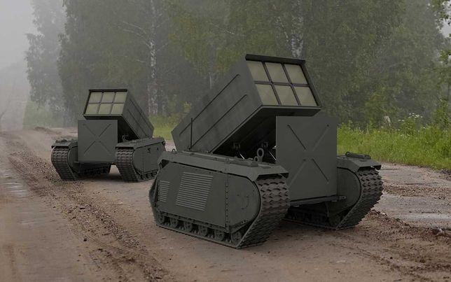 Bezzałogowy pojazd wielozadaniowy THeMIS z wyrzutnią rakiet Brimstone