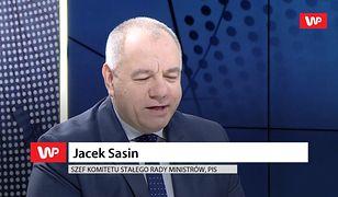 """Jacek Sasin o wcześniejszych wyborach. """"Absolutny fake news"""""""