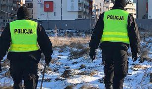 Policjanci przeszukują południowo-wschodnie dzielnice Olsztyna