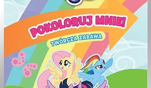 Zabawa na sto dwa. My Little Pony. Pokoloruj mnie