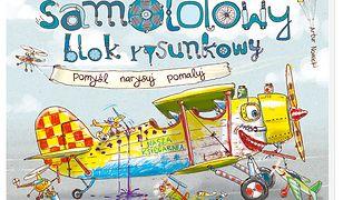 Samolotowy blok rysunkowy