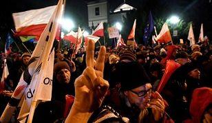6 osób z zarzutami za protest pod Sejmem