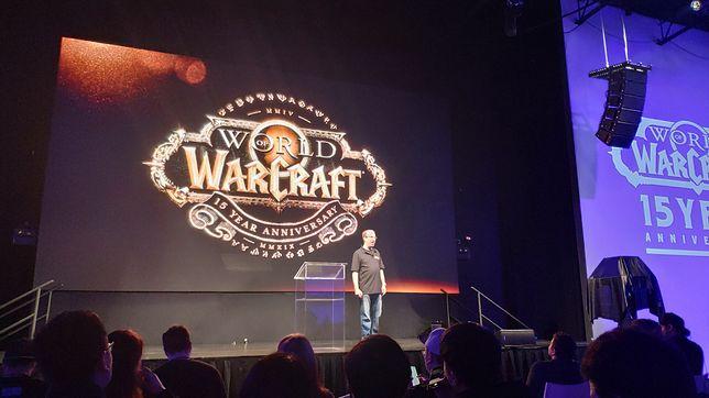 """John Hight, wiceszef """"World of Warcraft"""", na specjalnej imprezie w Los Angeles"""