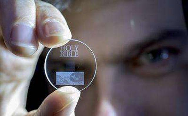 Technologia po raz pierwszy została zaprezentowana w 2013 roku, ale wtedy zapisano w niej skutecznie jedynie 300 kb danych.