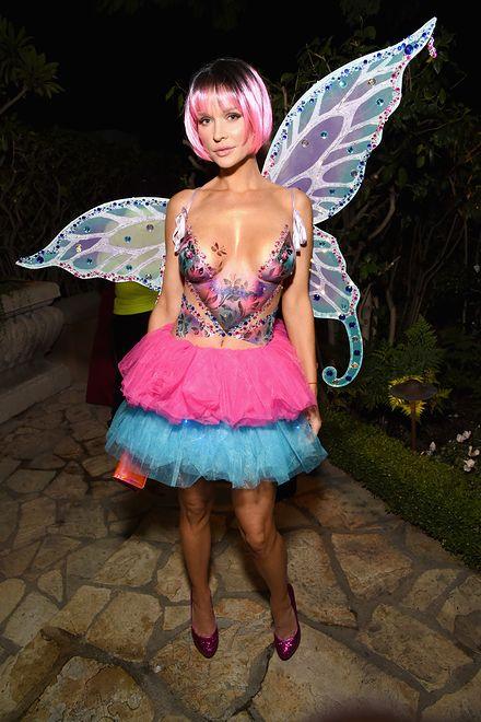 Modelka pojawiła się na imprezie półnago
