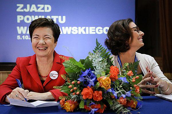 Hanna Gronkiewicz-Waltz szefową warszawskiej PO
