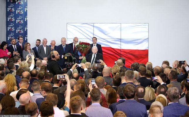 Po wynikach wyborów 2019 na Nowogrodzkiej pojawili się czołowi politycy PiS, aby podsumować wybory