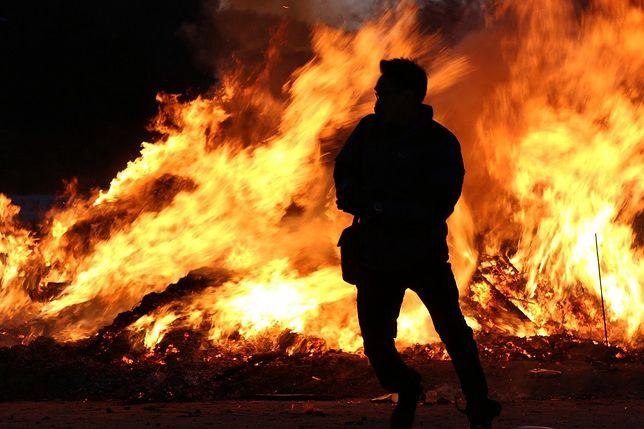 Liban. Gigantyczny pożar obozu dla uchodźców. Powodem kłótnia (zdjęcie ilustracyjne)