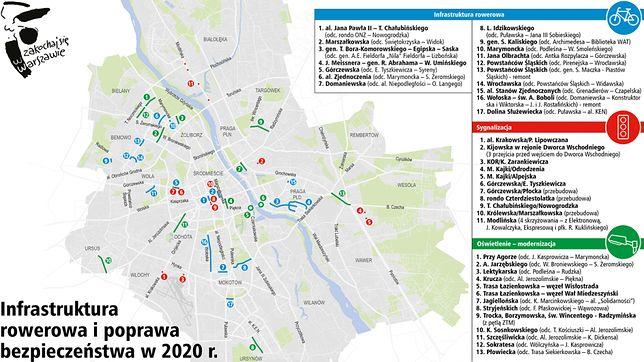 W Warszawie w 2020 r. priorytetem jest budowa metra i poprawa bezpieczeństwa na drogach