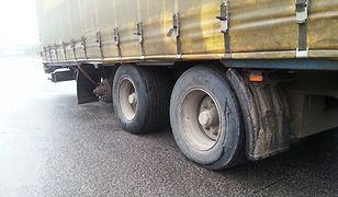 Ciężarówka bez koła