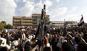 Członkowie i zwolennicy ruchu Huti, Sana