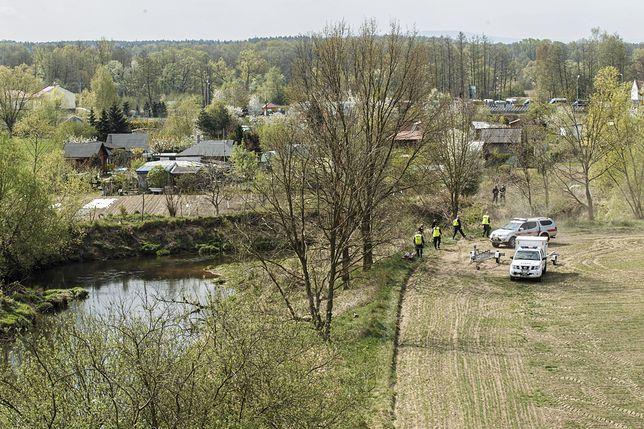 3,5-letni Kacper zaginął na działce w Nowogrodźcu pod Bolesławcem