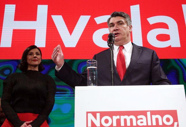 Zoran Milanovic wygrał drugą turę wyborów prezydenckich w Chorwacji