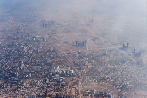 Nowe Delhi pod kopułą smogu