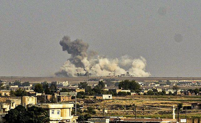 Turcja zaatakowała Syrię. Na miasto Ras al-Ajn spadły bomby