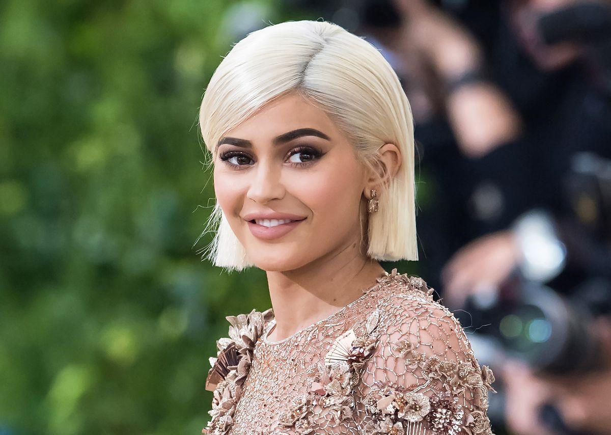 Kylie Jenner pokazała się w obcisłym kombinezonie