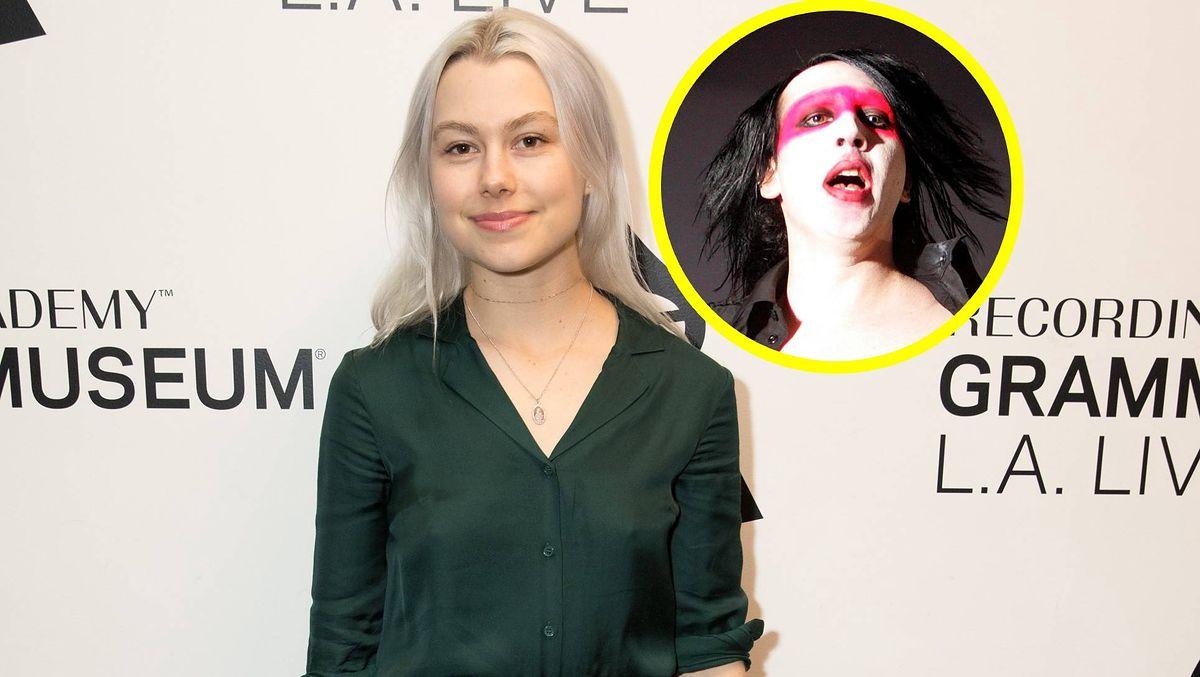 Phoebe Bridgers była w domu Marylina Mansona jako nastolatka. Ciąg dalszy afery