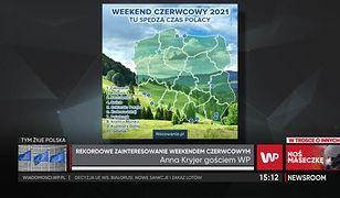 Długi weekend czerwcowy 2021. Najpopularniejsze kierunki turystyczne w Polsce