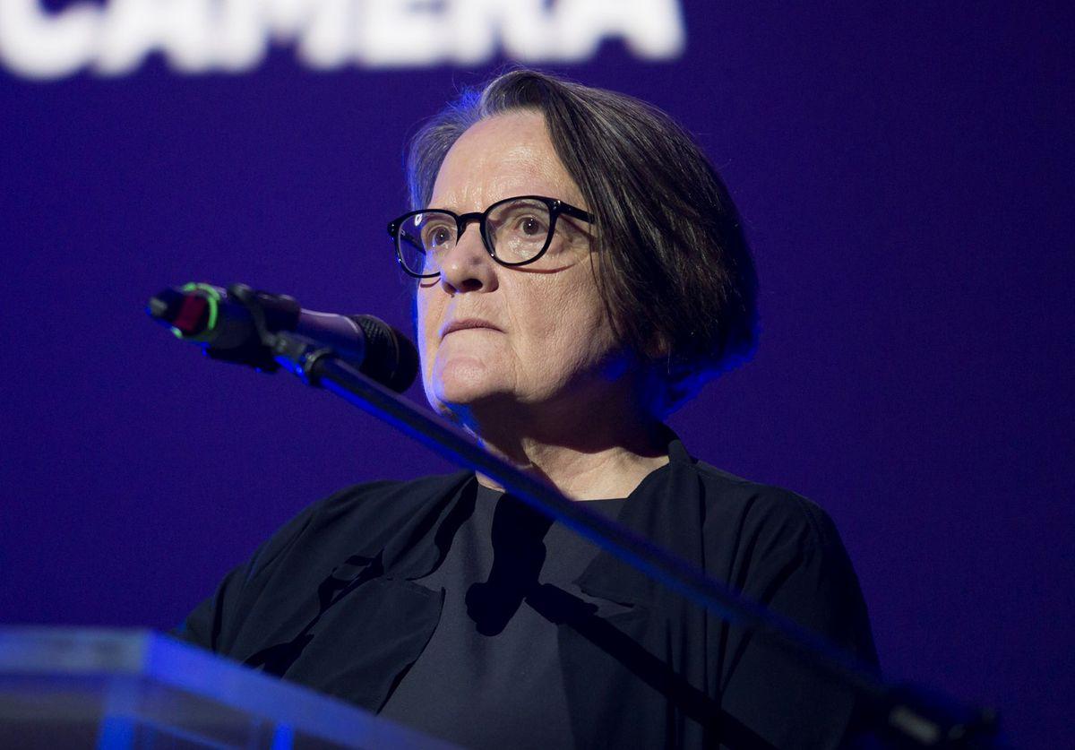 Agnieszka Holland wygłosiła mocną przemowę na festiwalu w Gdyni