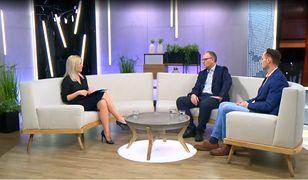 """Kamila Biedrzycka-Osica (Telewizja WP), Paweł Lisicki (""""Do Rzeczy""""), Michał Krzymowski (""""Newsweek"""")"""