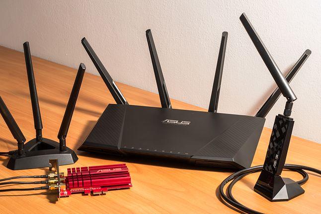 Kompletny zestaw do zbudowania szybkiej domowej sieci 802.11ac od Asusa