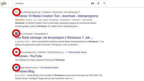 Google wprowadza zmiany w wynikach wyszukiwania