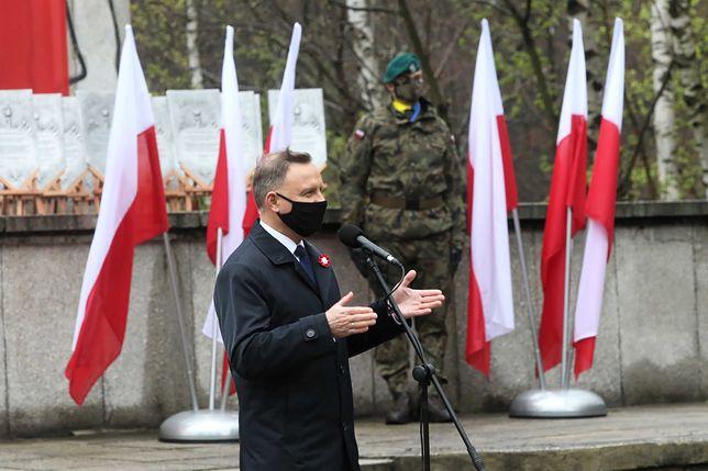 Andrzej Duda tłumaczy się ze swojej wpadki