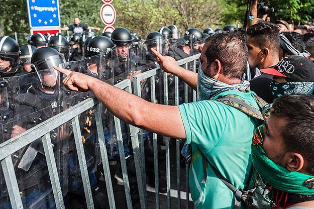 Środowe zamieszki na granicy serbsko-węgierskiej