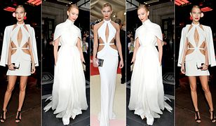 LOOK OF THE DAY: Karlie Kloss w sukni Brandona Maxwella