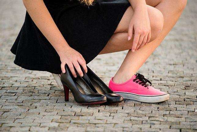 W wygodnych butach będzie nam łatwiej chodzić