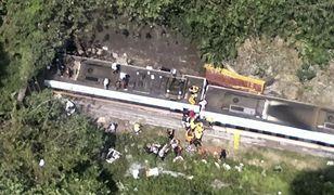 Tajwan. Katastrofa kolejowa na wschodzie kraju, wielu rannych i zabitych