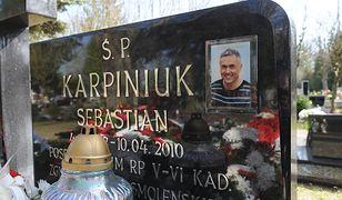 Grób Sebastiana Karpiniuka w Kołobrzegu