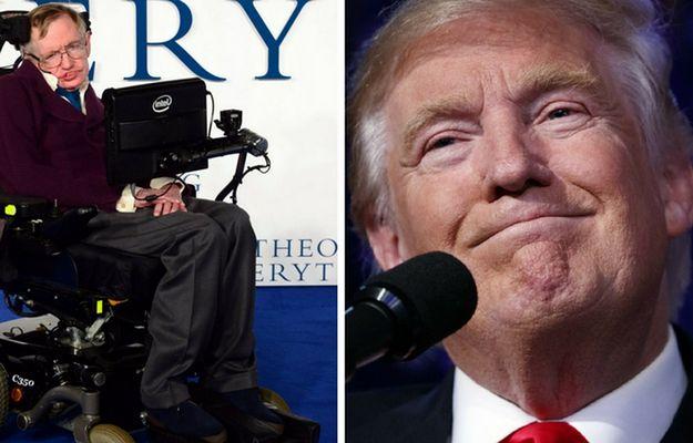 Stephen Hawking: ludzie na Ziemi przetrwają nie więcej niż 1000 lat. Uratować może nas Donald Trump