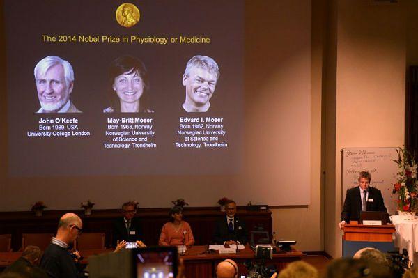 """Medyczny Nobel za """"wewnętrzny GPS"""" w mózgu"""