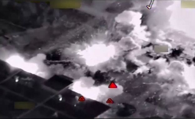 Amerykanie zbombardowali fabrykę broni chemicznej należącą do IS