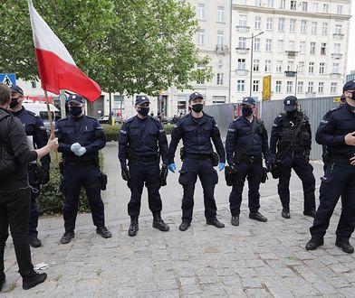 """Maj 2020, strajk przedsiębiorców w Warszawie. """"Polska już nie jest państwem prawa"""""""