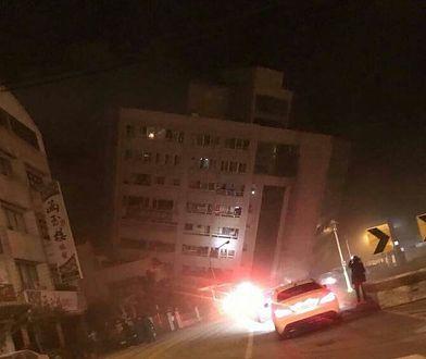 """Trzęsienie ziemi na Tajwanie. """"Bardzo silne i ekstremalnie niebezpieczne"""""""