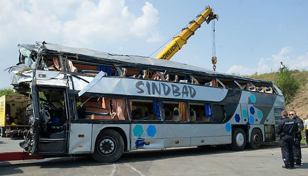 Sindbad o wypadku autokaru w Niemczech