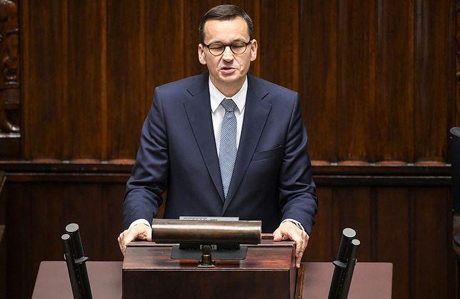 """Sejm. Premier Mateusz Morawiecki prosi o wotum zaufania. """"Przestańcie jątrzyć"""""""